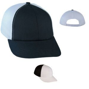 Lowstyle Solid Spacer Mesh Cap w/ Contrast Back - Blank